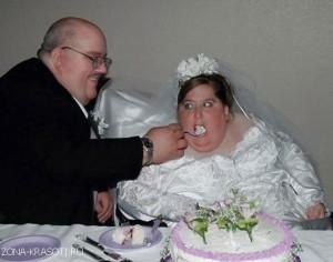 невеста с ожирением