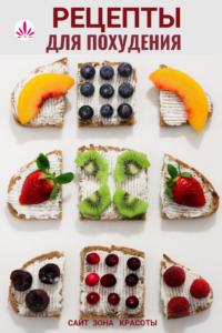 Рецеты бутербродов для похудения от сайта Зона Красоты